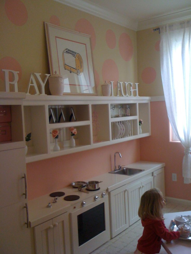 Adorable play room. But make it more neutral for my boy and girl