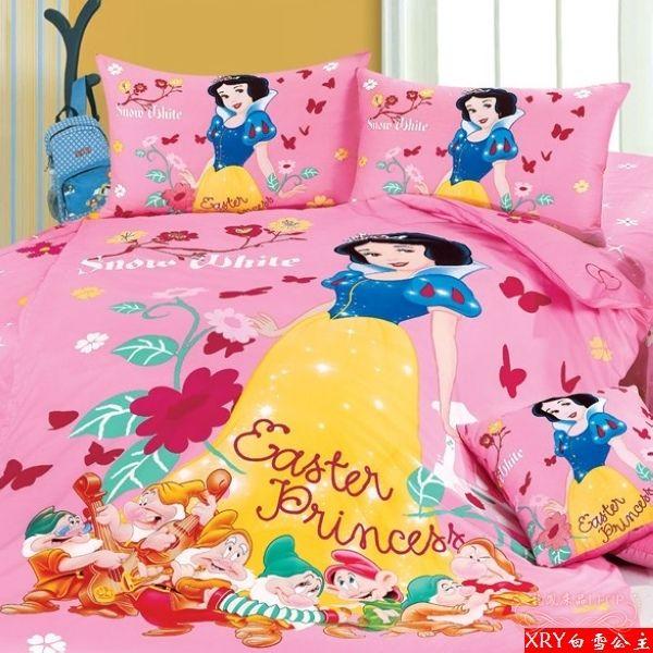 princess comforter bedding set twin full queen cartoon