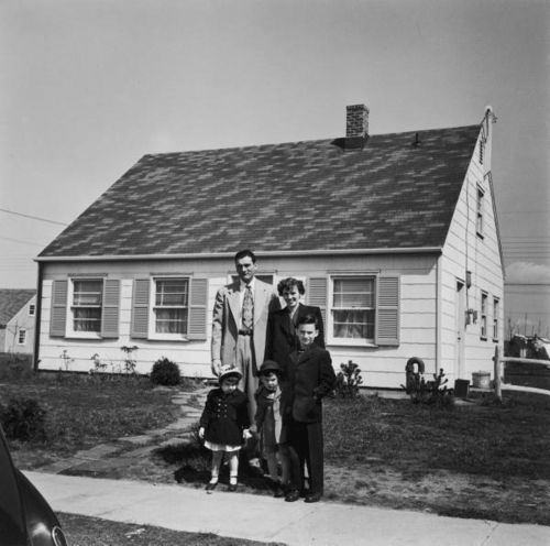 The American Post-war dream, late '40s, early '50s.