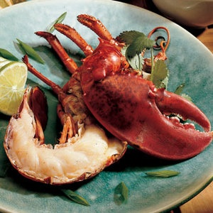 ... Grilled Summer Lobster Recipe from Bon Appetit available at www.edamam