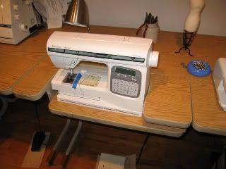 way to make sewing ergonomic