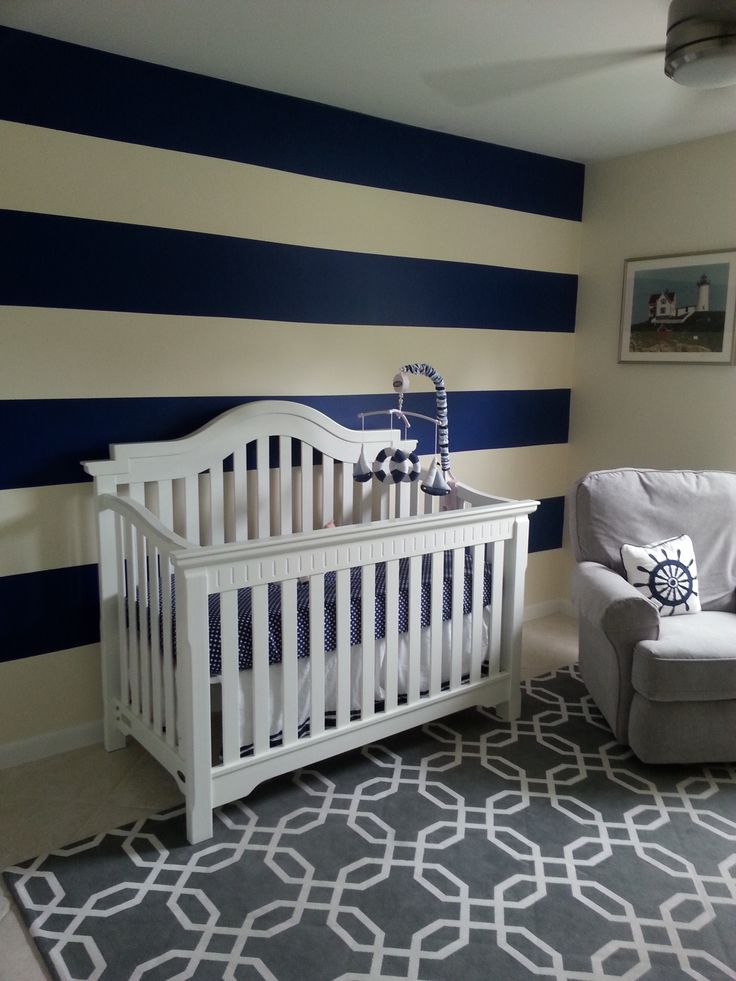 429 best images about nautical beach themed rooms on for Boys room accent wall