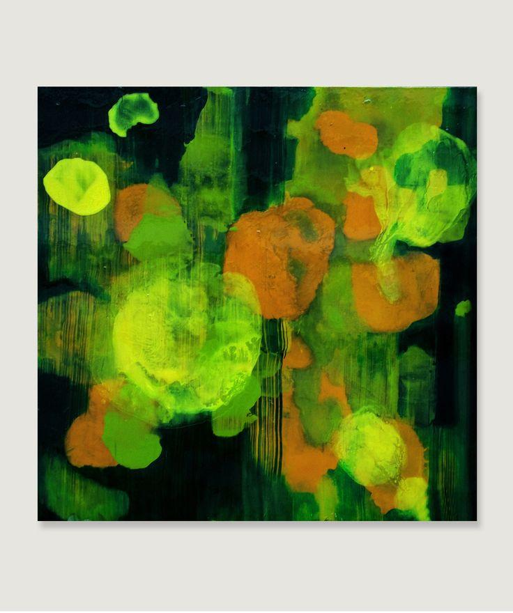 """""""Shimmer"""", oil on canvas, 80x80cm, 2013r. Joanna Mularska, artist, Poland"""