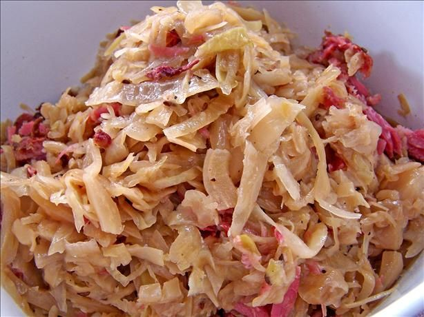 Swedish Sauerkraut Recipe - Christmas.Food.com - 197190