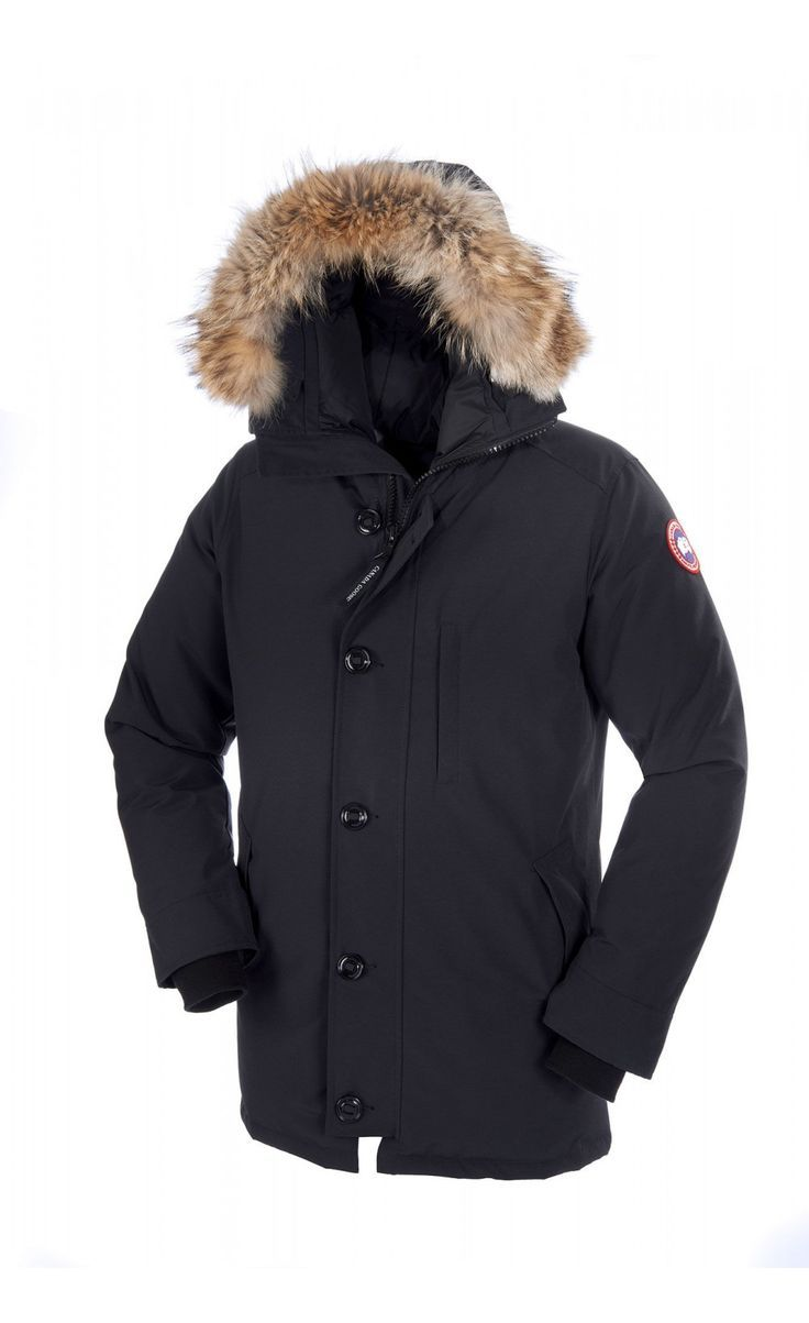 Mens Canada Goose Constable Parka Black