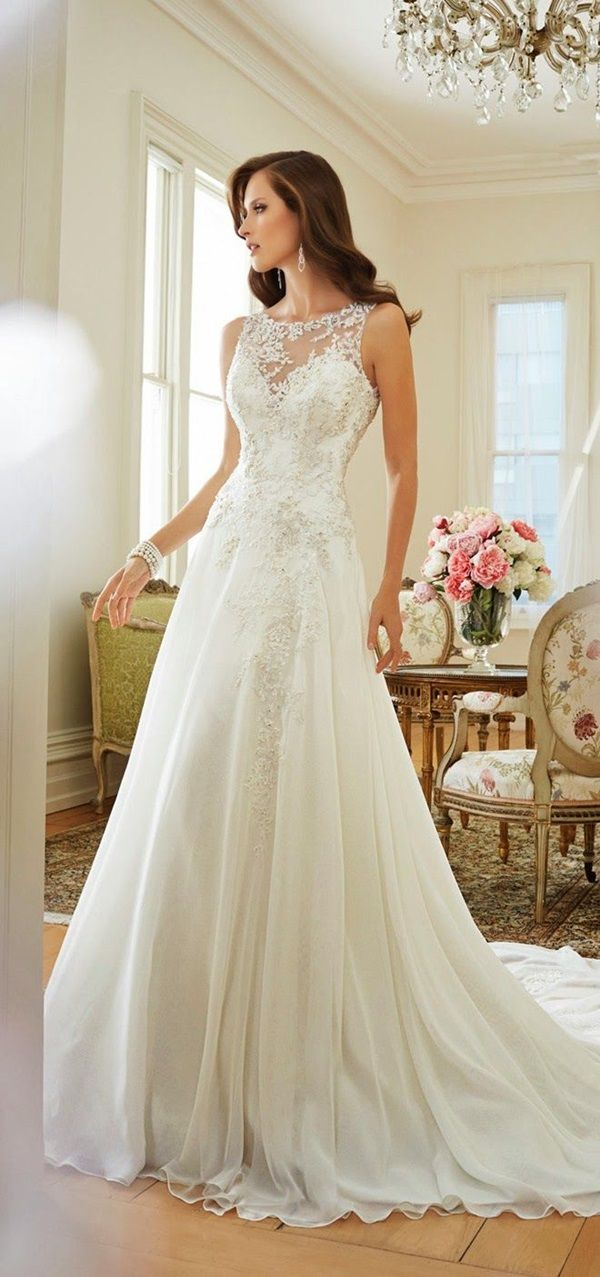 40 Gorgeous Heavy Wedding Gown Designs