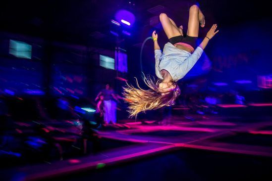 Try This: Neon Nights at Launchpad Trampoline Park