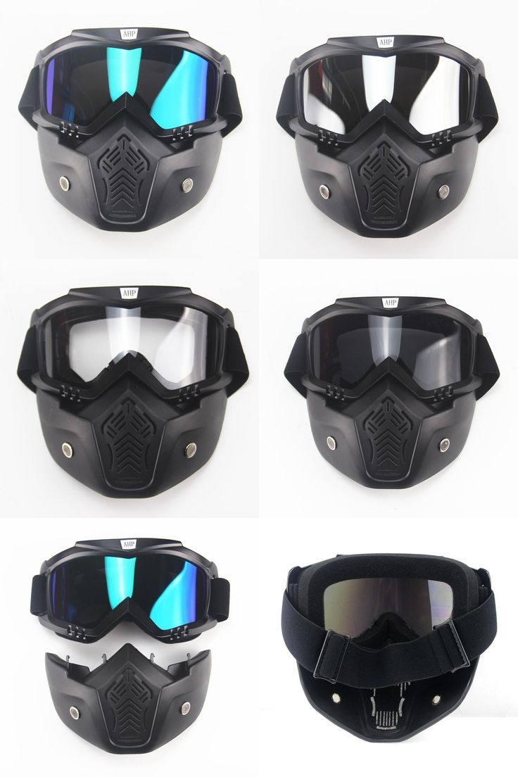 [Visit to Buy] Goggles   Mask Perfect for Open Face Motorcycle Half Helmet or Vintage Helmets New Fashion visor ski snowboard  #Advertisement