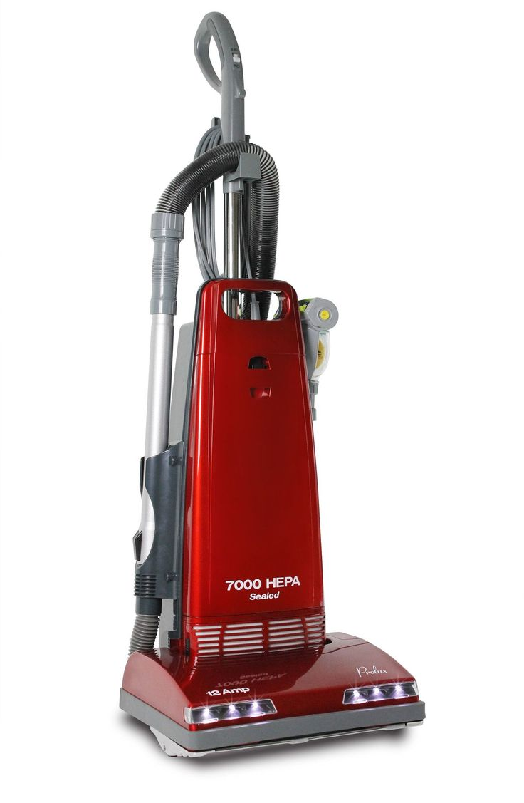 LED Upright Sealed H-Grade HEPA Allergen Pet Vacuum