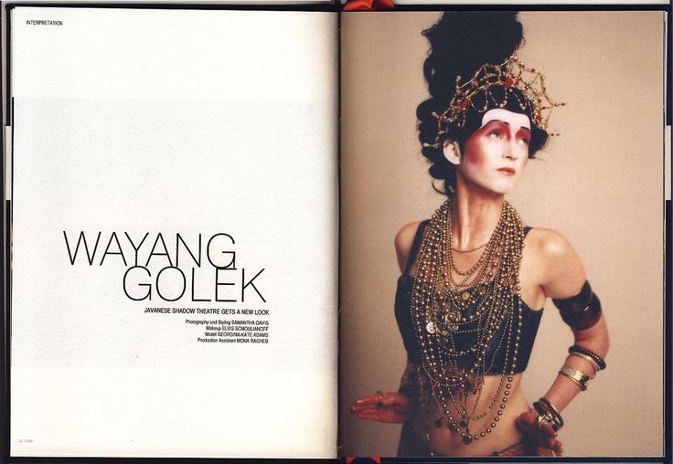 Indonesian Javanese Wayang Golek