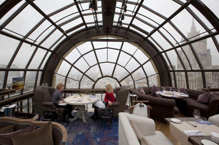 Restaurante White Rabbit, uno de los mejores de Moscú