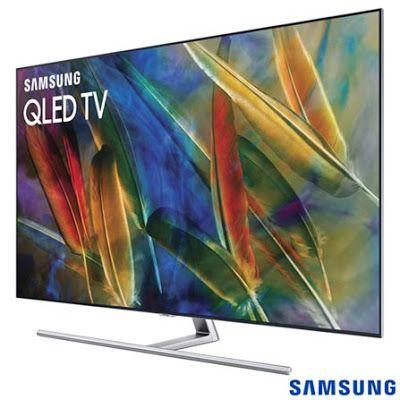 Smart TV Samsung QLED 4K 55 com Modo Jogo Connect Share Interação por Voz e Wi-Fi - QN55Q7 << R$ 599900 >>