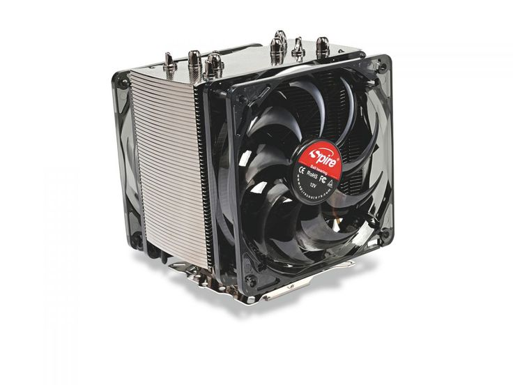 Spire Thermax Eclipse II review | Intriguingly, the first batch of Spire's Thermax Eclipse II CPU cooler hit online retailers in the wrong packaging. We mention this because we received one of these, and were a little confused as to which it was. A squint at Spire's website sets the record straight, since the Eclipse II has black nickel-coated fins, something that immediately separates it from the sea of silver aluminium you're faced with when you browse CPU coolers on any etailer's site…