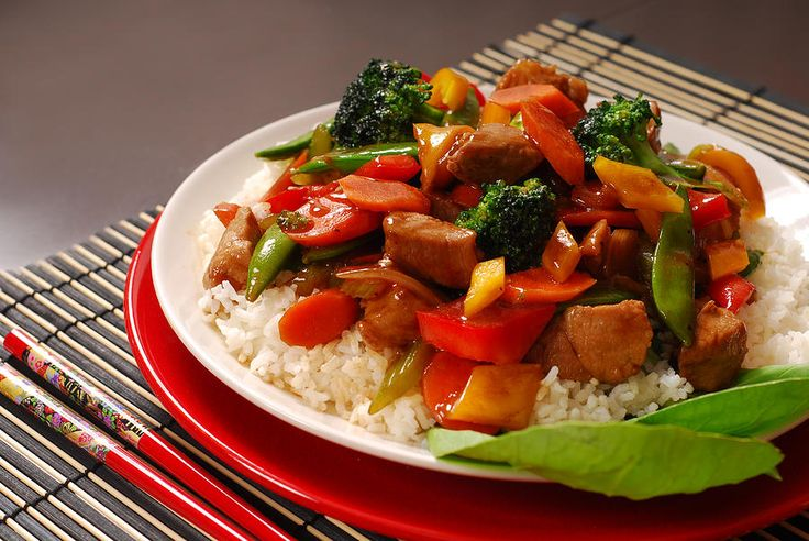 Today's lunch special features a colorful pork stir-fry served with an egg roll all over a bed of rice! If you're coming in for service or for a test drive and you're feeling a bit hungry then you're in for a treat. Stop by our Priority Cafe - we'll save you a table!
