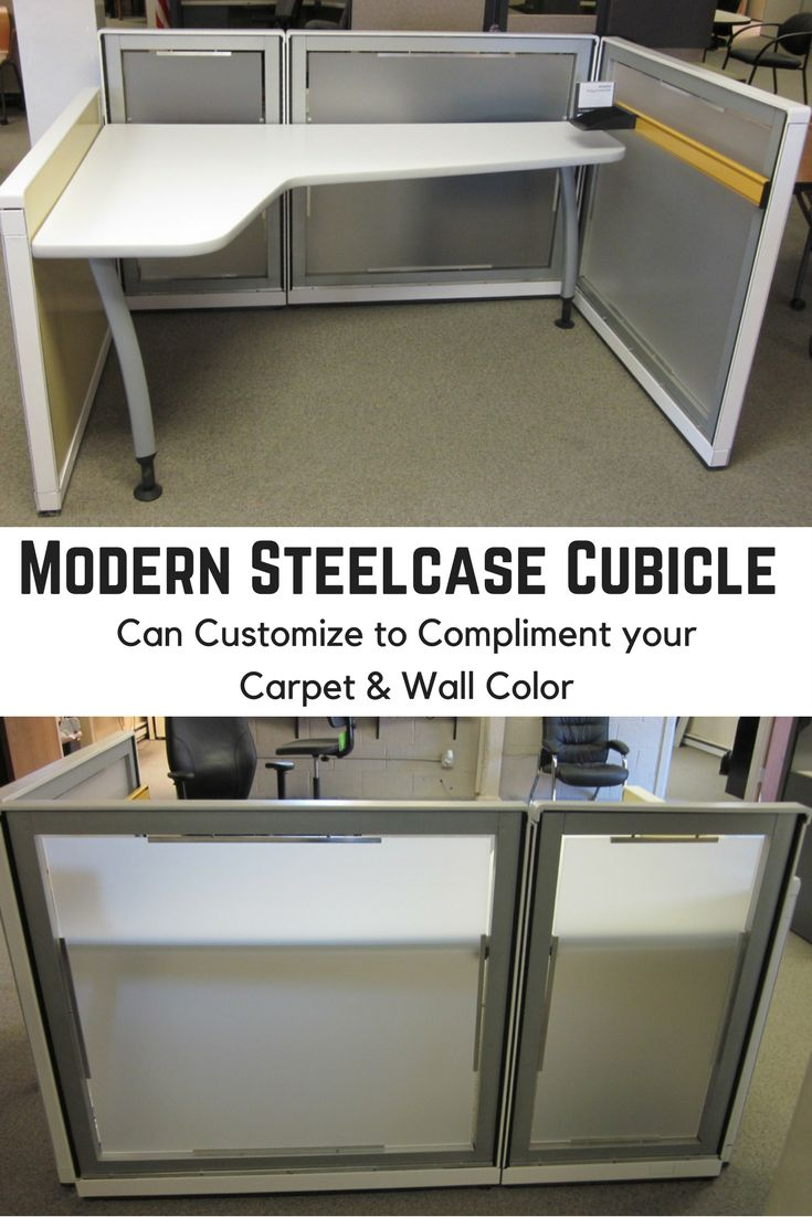 modern steelcase cubicle refurbished for a client you can customize to compliment your carpet u0026 office