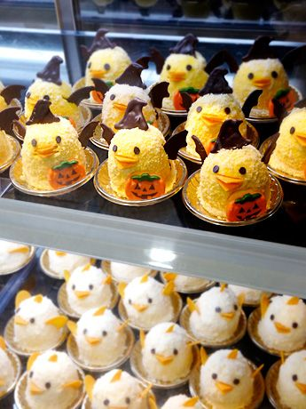 "Chick pudding cakes ""Piyorin"" Nagoya, Japan 「ひよこプリン ぴよりん」"