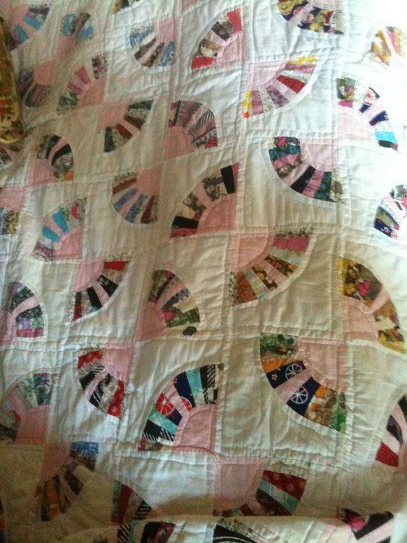1000 Images About Fan Quilts On Pinterest Grandmothers