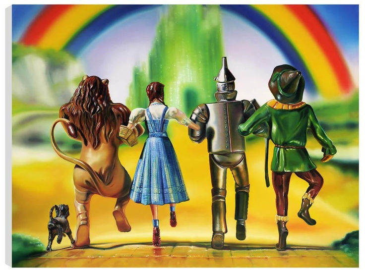 We're Off To See The Wizard - Sarah Graham