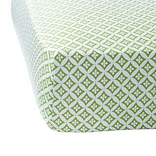 bed: Spring Green, Cribs Sheet, Fit Sheet, Organizations Cotton, Cribs Beds, Florentine Cribs, Green Florentine, Baby Boys, Baby Cribs