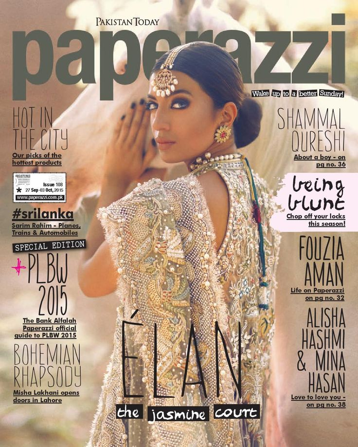 ISSUU - Pakistan Today Paperazzi issue E 108 Sep 27th 2015 by Pakistan Today