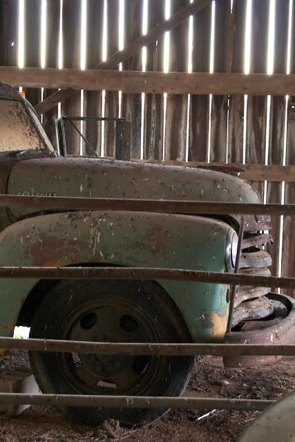 a fine farmhouse:Truck