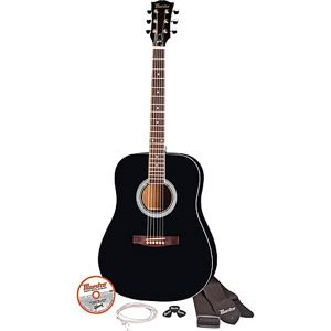"""Maestro by Gibson MA41BKCH 41"""" Full Size Acoustic Guitar Kit, Natural Finish"""