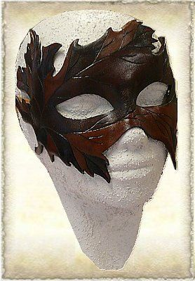 Leren masker