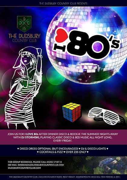 I L♥VE 80s Fridays