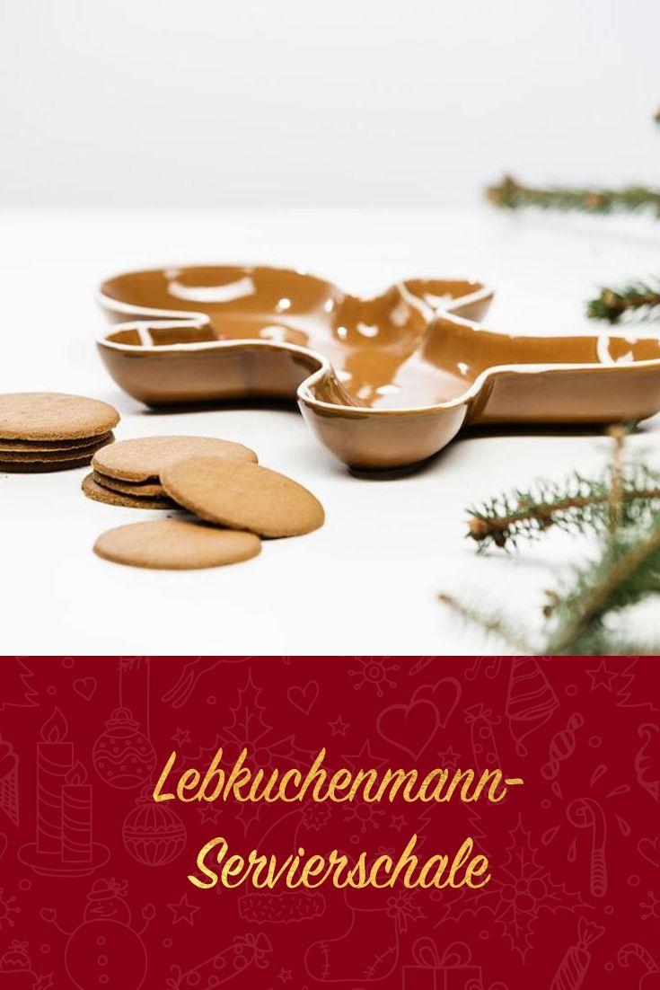 Weihnachtsdeko Lebkuchenmann.Sagaform Winter Lebkuchenmann Servierschale 5017281 Oh Du
