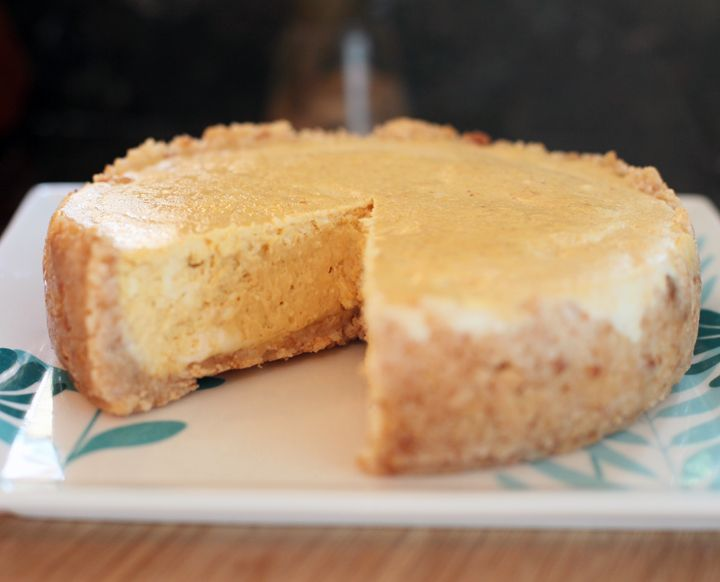 I've had pumpkin pie on my mind ever since November started.  But I wanted to make something in my pressure cooker instead of baking something in the oven.  So cheesecake in the pressure cooker sou...