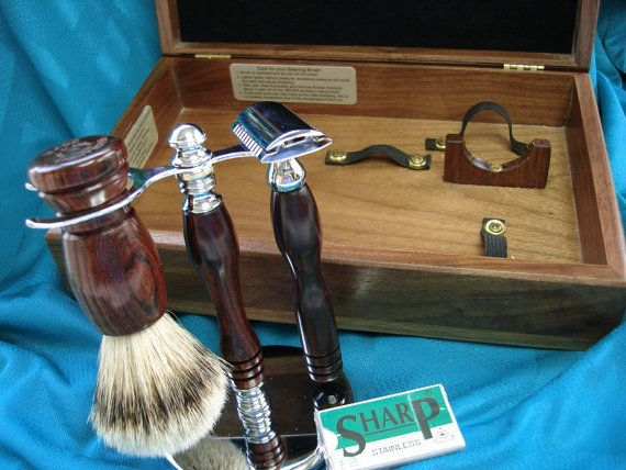 21 best mens cigar box shaving kits images on pinterest