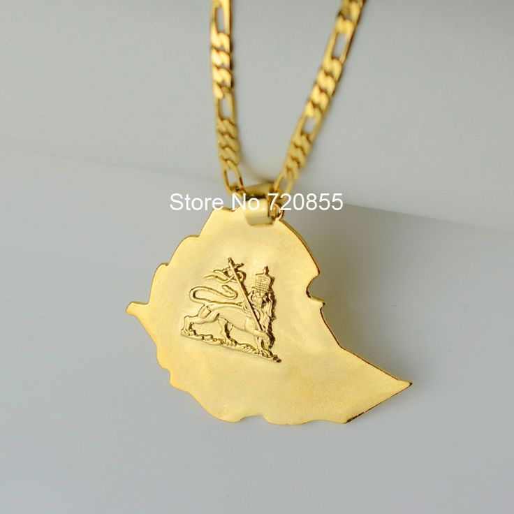 Find More Pendant Necklaces Information about NEW ethiopian map pendants & necklaces chain women men 22K Gold Plated Jewelry Africa W/45cm/60cm Gold Chain Necklace Ethiopia,High Quality necklace diamond jewelry,China necklace women Suppliers, Cheap jewelry charm necklace from Golden Mark Jewelry Factory on Aliexpress.com