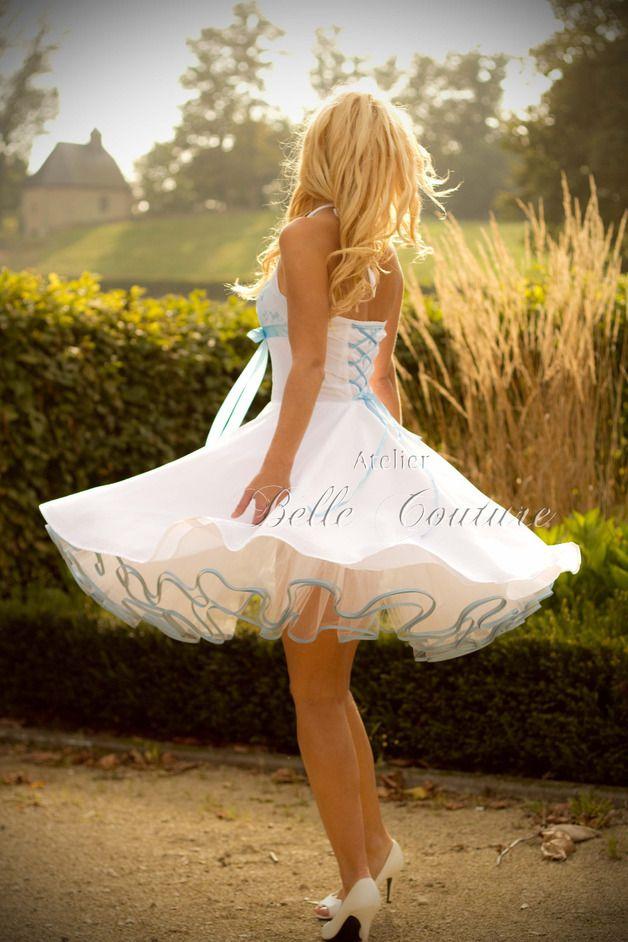 petticoatbrautkleid valerie eisblau petticoat kleid hochzeit