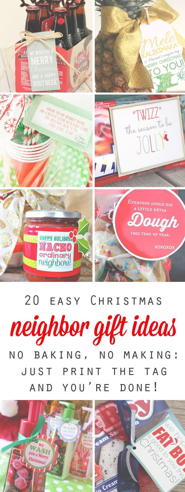 20 quick easy and cheap neighbor gift ideas for