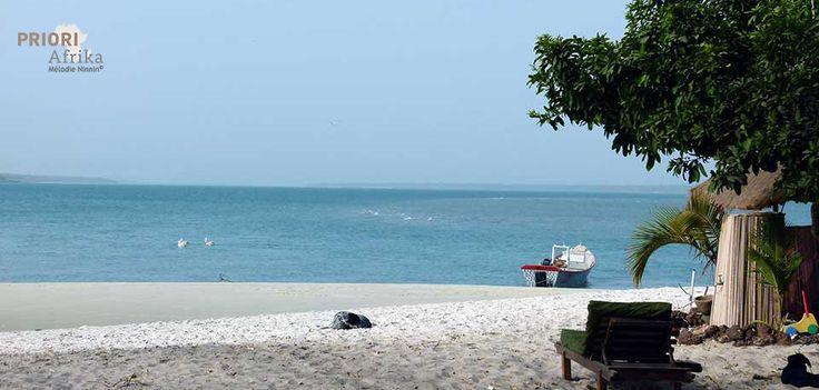 Strand in Guinea-Bissau