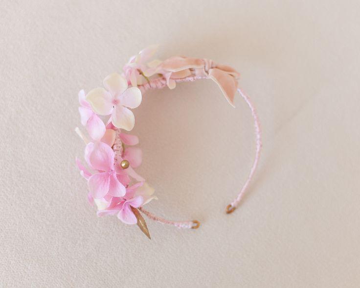little / ceremonial headpieces / comunion / tiara / missdiademas.com / floral crown / coronas de flores / wedding / boda / girls / gold