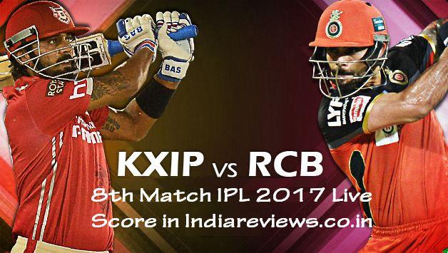 punjab vs bangalore(KXIP vs RCB) | IPL Live score | Live video | Today match