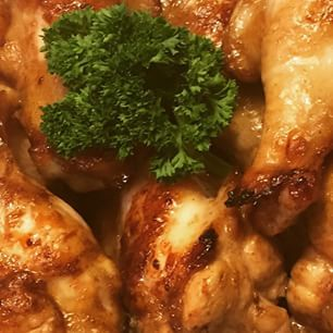 Sweet chili chicken wings (zoete kippenkluifjes met limoen en chilipeper)