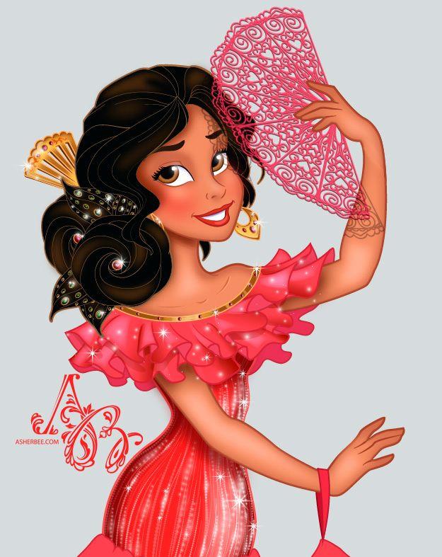 Disney Princess Elena of Avalor by Asher-Bee.deviantart.com on @DeviantArt