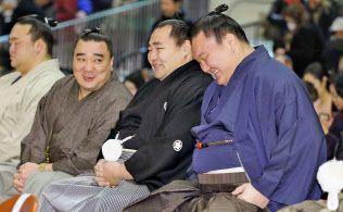 白鵬、初場所へ「いいスタート切りたい」 / 日本経済新聞 #相撲