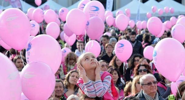 """Un momento dell'evento """"Just the woman I am"""", nell'ambito della Giornata Internazionale della #Donna, che si è tenuto in piazza San Carlo, a #Torino"""