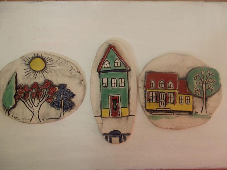 little House tiles $25.00 ea -