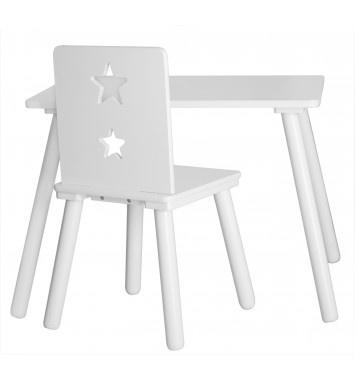 Kids Concept Bord Star Vit - Bord & stolar - Barnmöbler - Inredning - Produkter