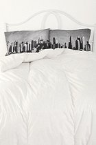 #UrbanOutfittersPillows Cases, Urbanoutfitters, Skyline Pillows, Urban Outfitters, Dreams, Skyline Pillowcases, Bedrooms, New York, Nyc Skyline