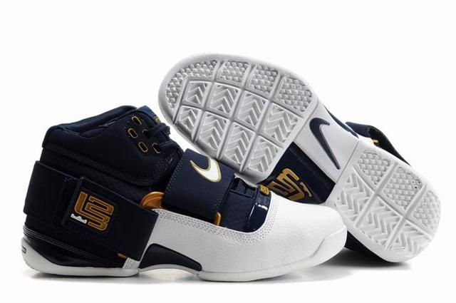 http://www.airfoamposite.com/nike-zoom-lebron-45-navy-white-gold-p-344.html Only$84.70 #NIKE #ZOOM #LEBRON 4.5 NAVY WHITE GOLD #Free #Shipping!