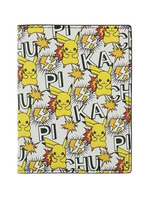 Pokemon Pikachu Printed Allover Large Bi-fold Wallet