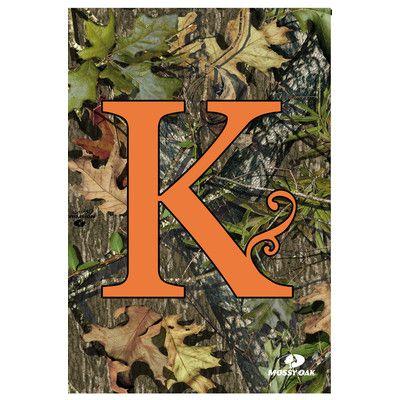 Evergreen Flag Garden Monogram Garden Flag Letter K Gardens