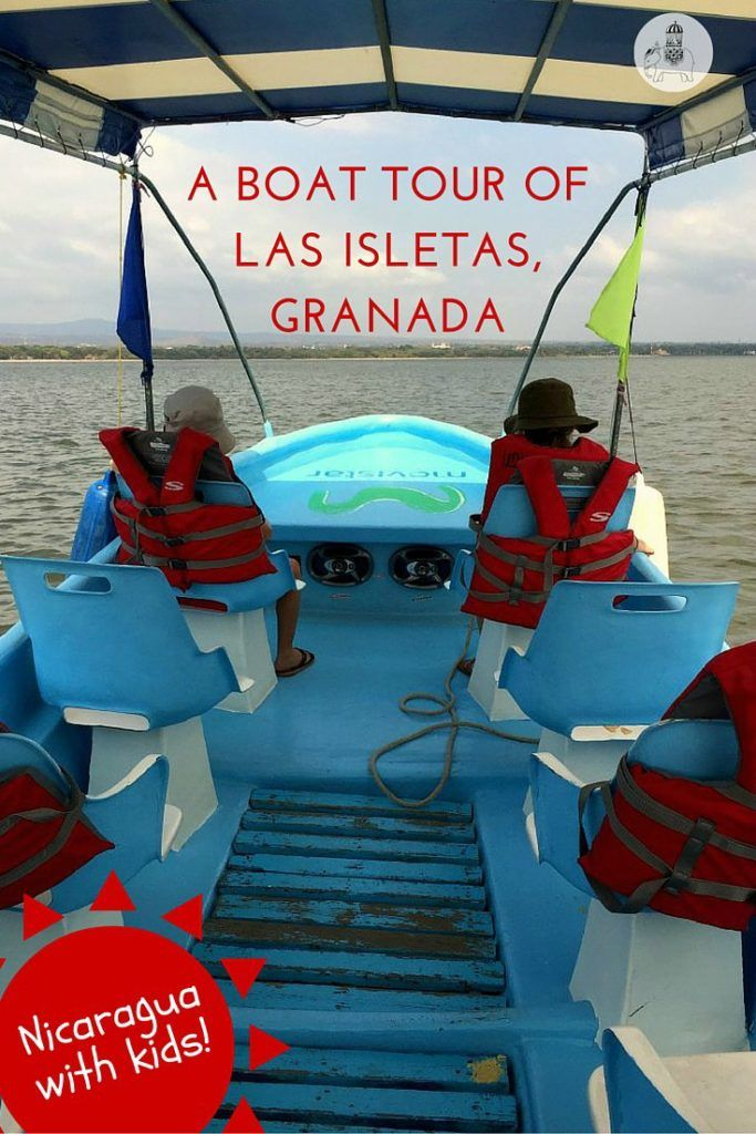 Nicaragua with Kids: A Boat Tour of Las Isletas, Granada. What are Granada's Isletas?  When Mombacho Volcano erupted thousands of years ago it blew large chunks of its cone into Lake Nicaragua, creating hundreds of small islands, known today as Las Isletas. Positioned roughly 5km from Granada's centre, these islets are easy to access and fun to explore, either by boat or kayak.