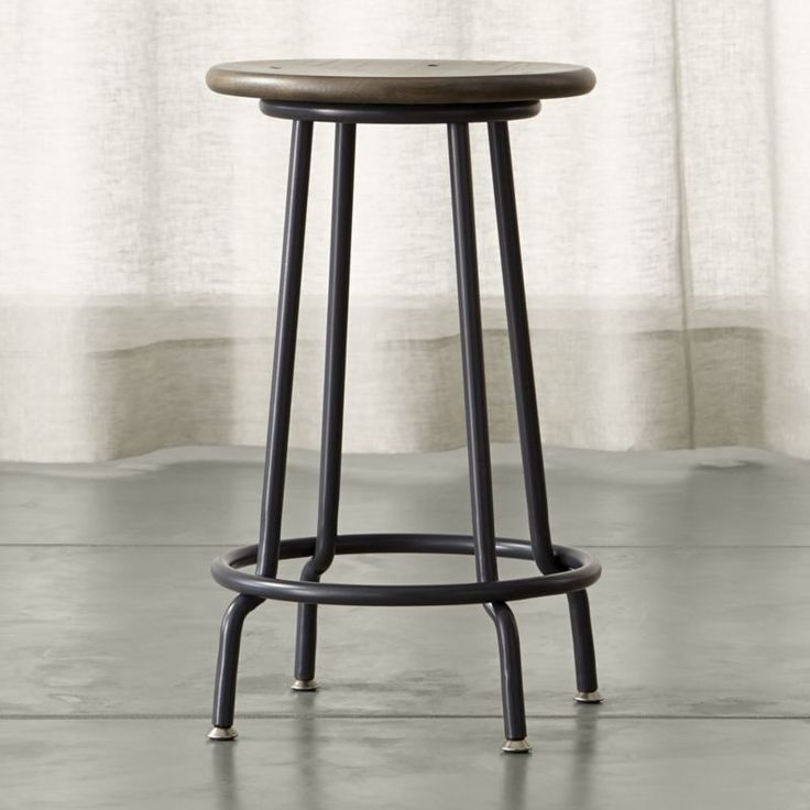 scholar backless - Find the perfect barstool for kitchen or bar at Crate and Barrel. Browse wooden, upholstered, leather and metal bar stools. Order a bar stool online.