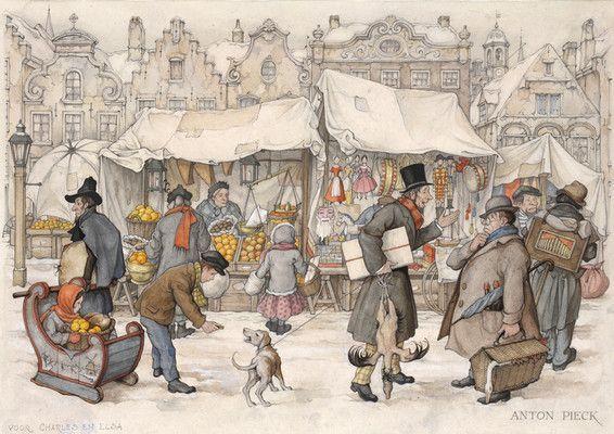 Anton Pieck.eu     Kerstmarkt